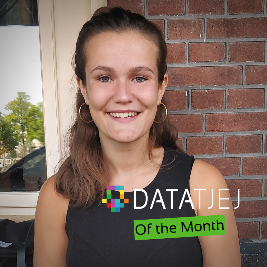 Anna Montelius, of the month DataTjej February 2021